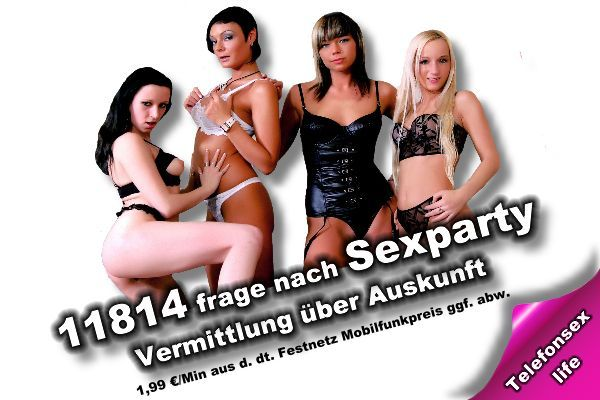 Sexparty ohne 0900 Nummer