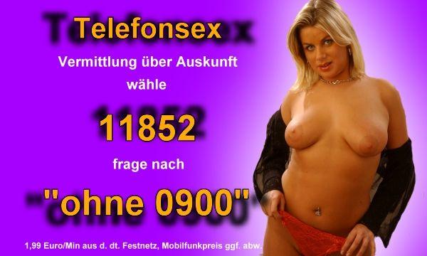 ohne 0900 Nummer
