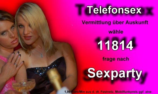 sexparty am Telefon