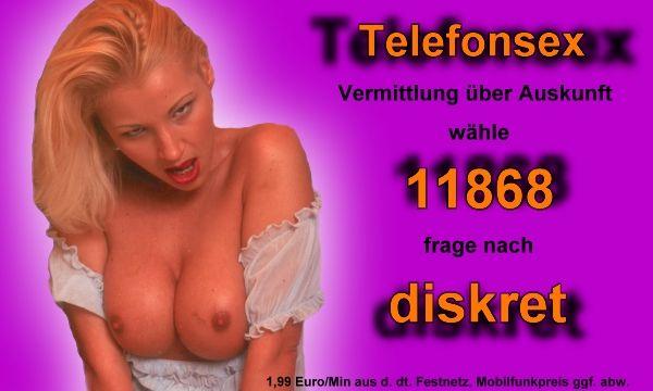 Telefonsex diskret