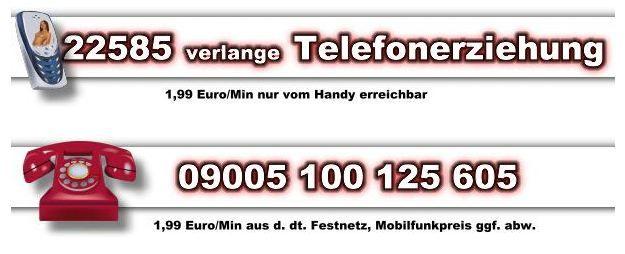Handy Telefonsex vermittlung