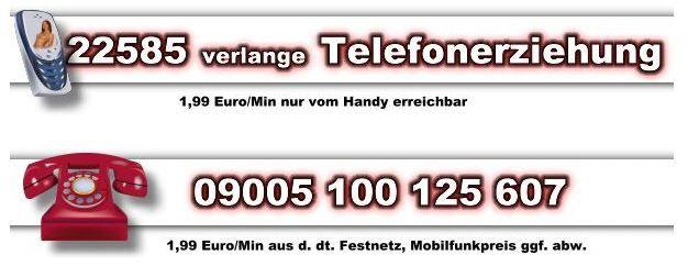 Handy Telefonsex vermittlung mit SM Domina