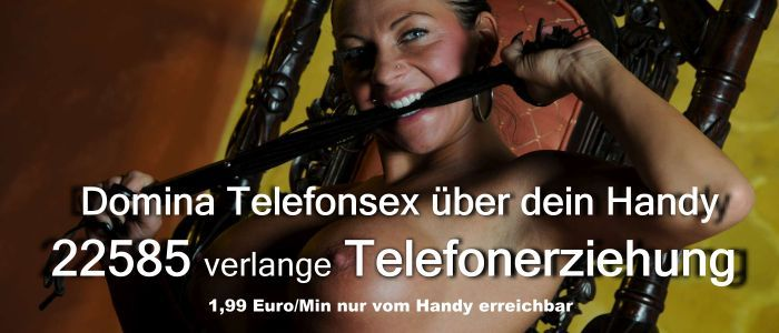 Domina, Telefonerziehung, Dominante Spiele, Rohrstock